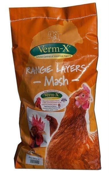 Copdock mill range layers mash  + verm-x  carry home 5kg